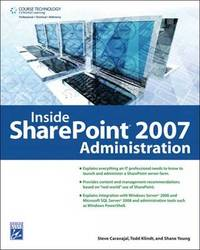 Inside Sharepoint Administration by Shane Young image