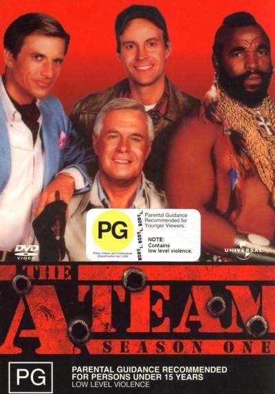 The A-Team - Season 1 (5 Disc Box Set) on DVD