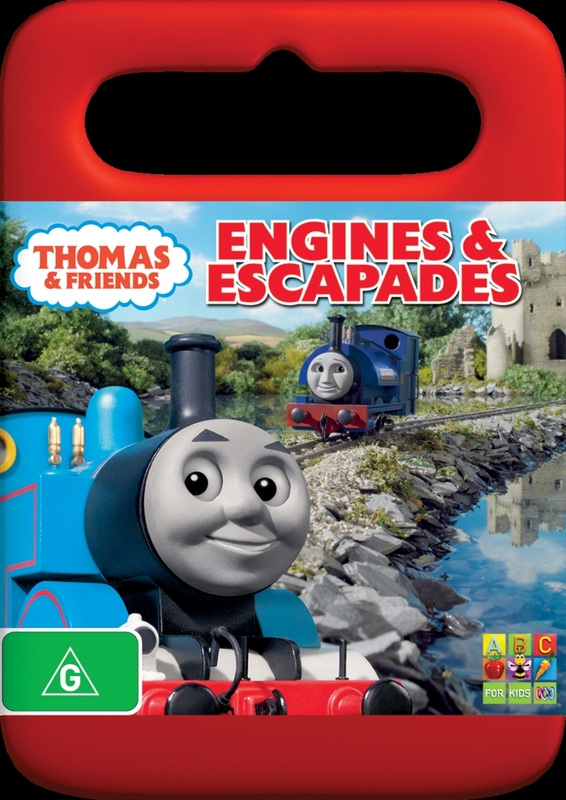Thomas & Friends - Engines & Escapades on DVD