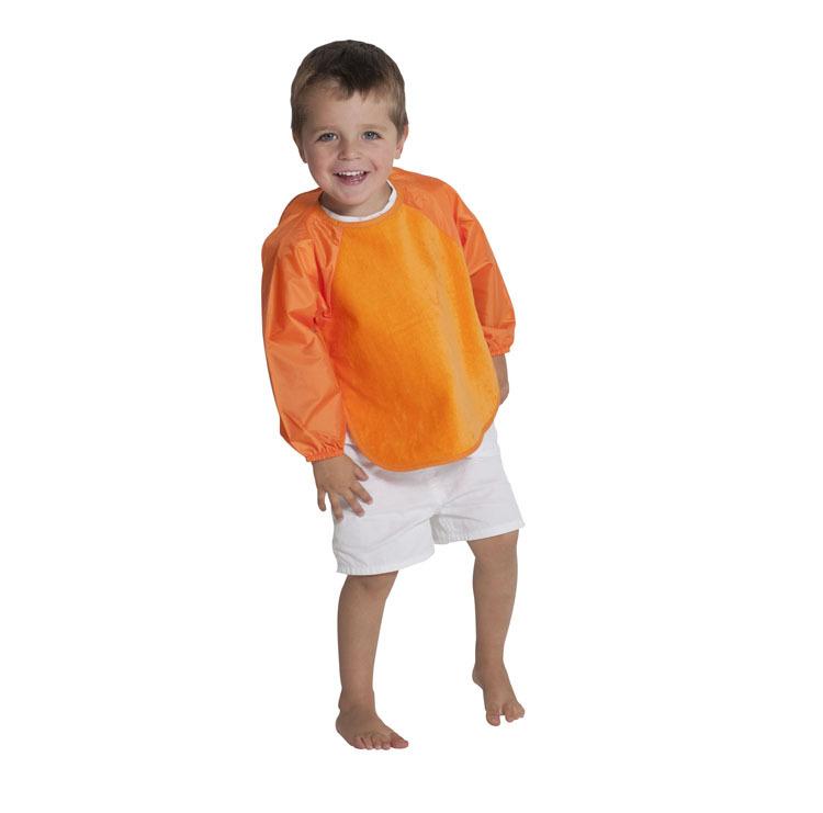Mum 2 Mum Sleeved Wonder Bib (6-18 Months) - Orange image