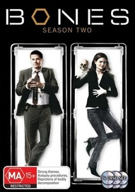 Bones - Season 2 (6 Disc Set) on DVD