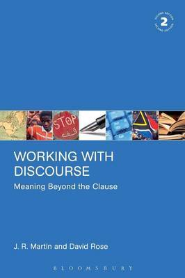 Working with Discourse - Meaning Beyond the Clause by J.R. Martin image