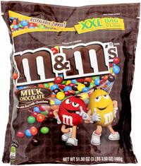 M&M SUP XXL Bag Milk Chocolate 1.46kg