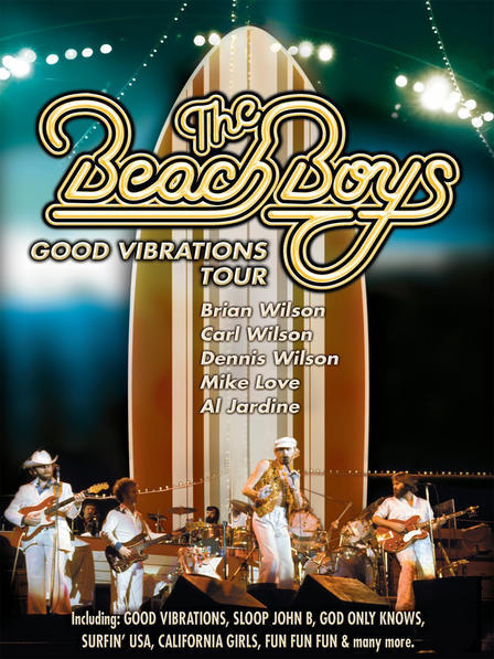 Beach Boys, The - Good Vibrations Tour on