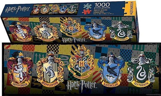 Harry Potter: 1000pc Crests Slim Puzzle