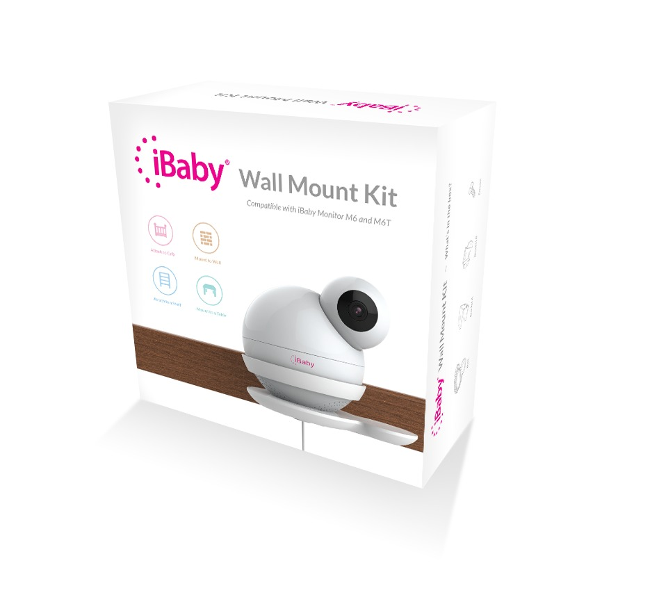 iBaby Wall Mount for the M6/M6T/M6S/M7/M7 Lite Baby Monitors image
