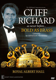 Cliff Richard: Bold as Brass Live in London 2010 on DVD