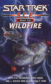 Star Trek: Corps of Engineers: Wildfire by David Mack image