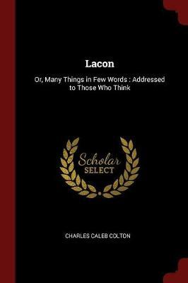 Lacon by Charles Caleb Colton image
