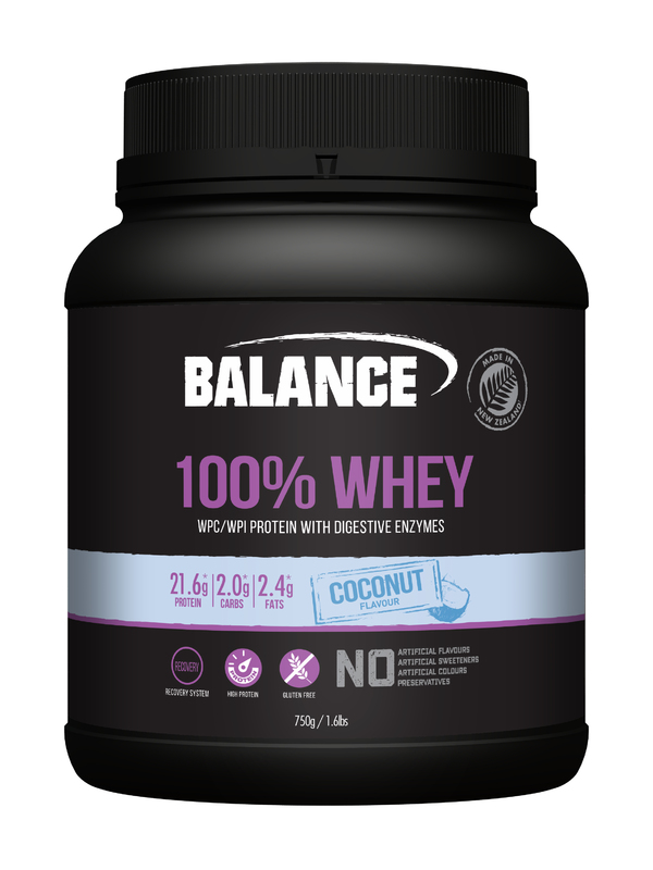 Balance 100% Whey Protein - Coconut (750g)