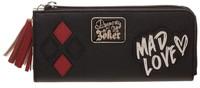 DC Comics: Harley Quinn (Mad Love) - Zip Around Wallet