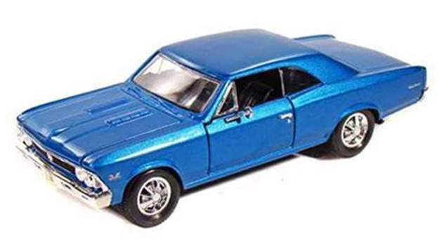 Maisto Special Edition: 1:24 Die-cast Vehicle - Chevrolet Chevelle SS (1966)