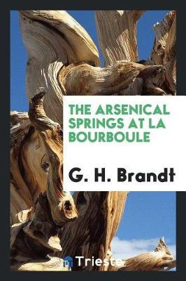 The Arsenical Springs at La Bourboule by G H Brandt