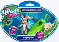 QPeas: Posable Mini Dolls - Single (Zada)