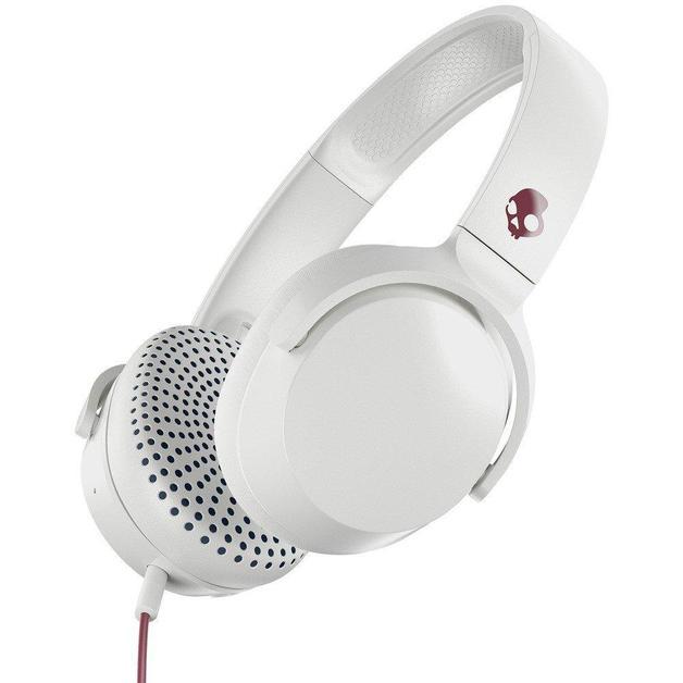 Skullcandy: Riff On-Ear Headphones - Vice/Grey/Crimson
