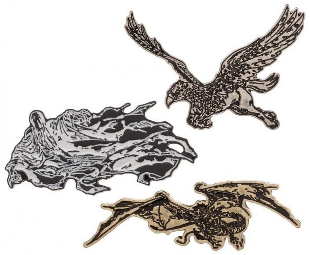 Harry Potter Lapel Pin Set (3 Pack)