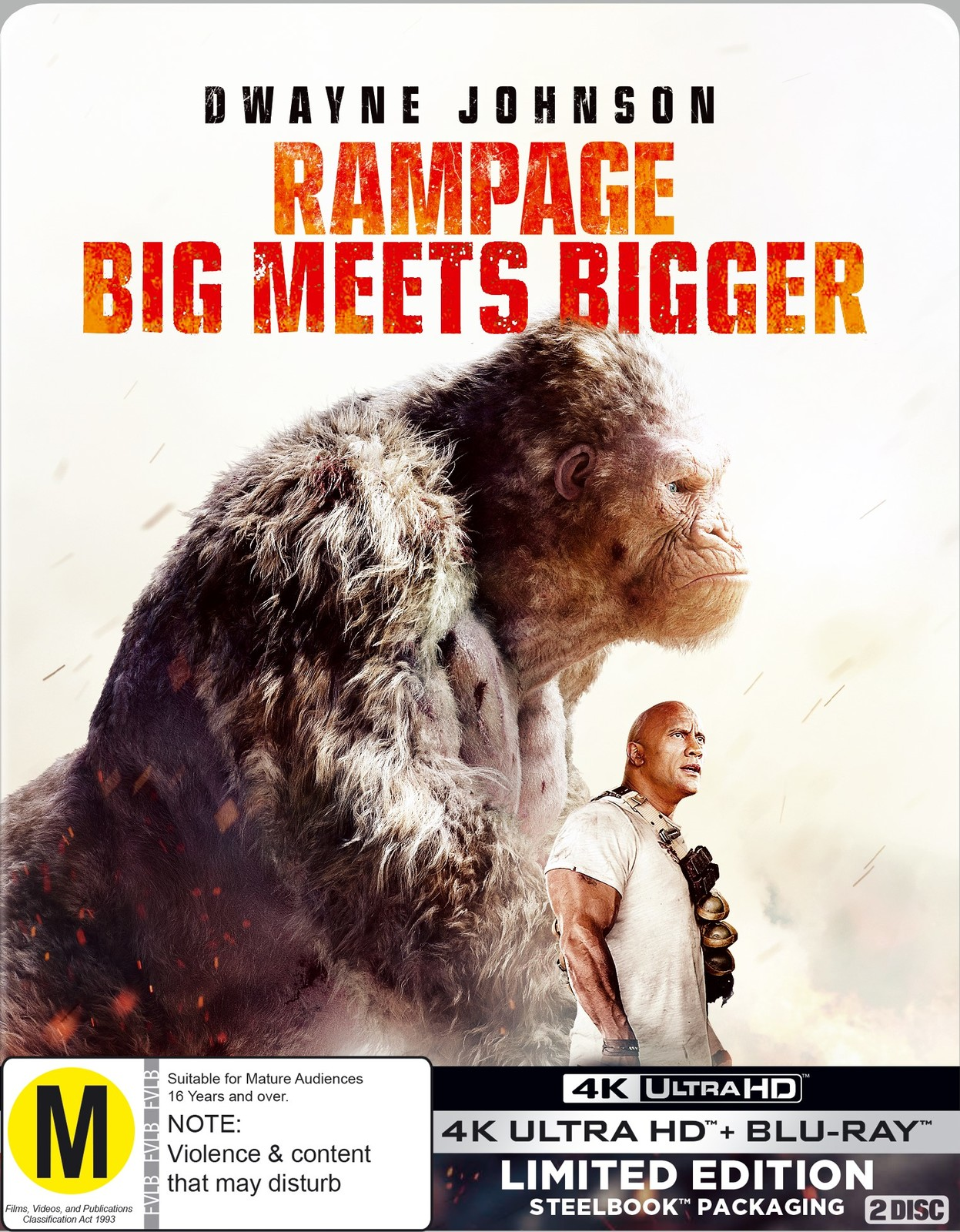 Rampage on UHD Blu-ray image