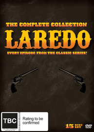 Laredo The Full Collection on DVD