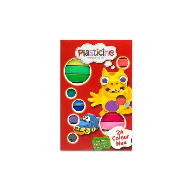 Plasticine: 24 Colour Max