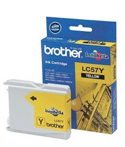 BROTHER LC57 Yellow Cartridge