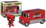 Deadpool - Red Chimichanga Truck Pop! Vinyl Figure