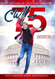 Cliff Richard 75th Birthday Concert Royal Albert Hall DVD