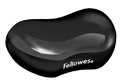 Fellowes Utility Rest - Gel Crystals - Black