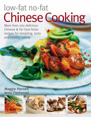 Low-fat No-fat Chinese Cooking by Maggie Pannell image