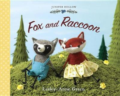 Fox and Raccoon by Lesley-Anne Green