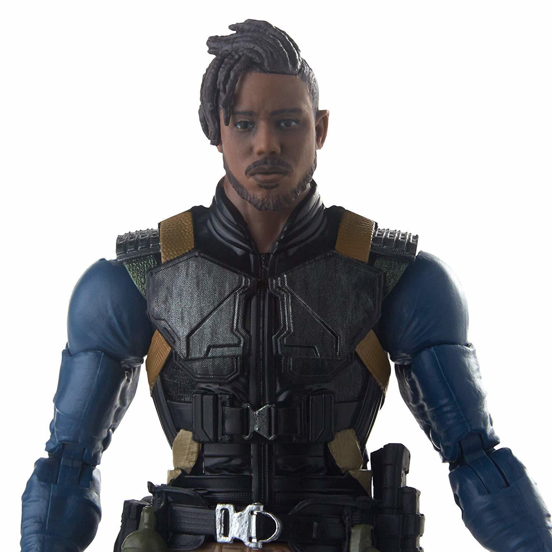 "Marvel Legends: Erik Killmonger - 6"" Action Figure image"