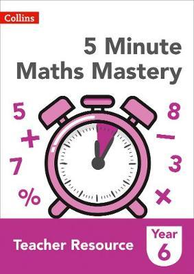 5 Minute Maths Mastery Book 6 by Collins image