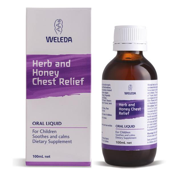 Weleda Herb + Honey Chest Relief for Children (100ml)