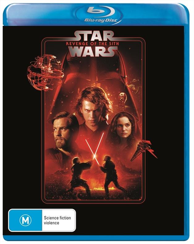 Star Wars: Episode III - Revenge of the Sith on Blu-ray
