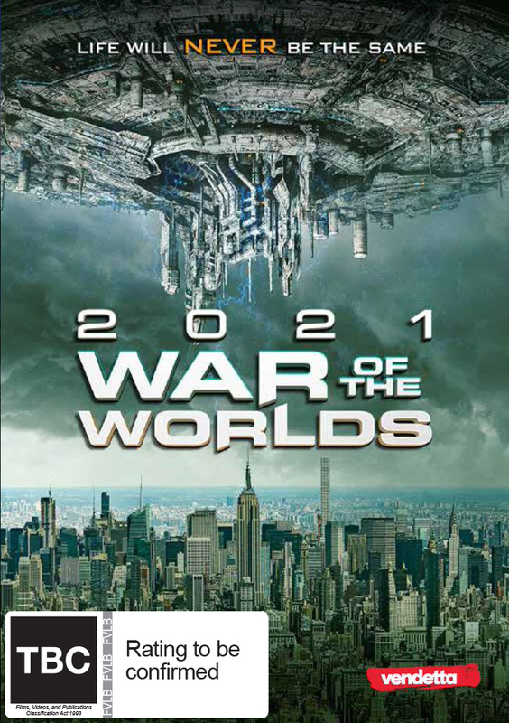 2021 War of the Worlds on DVD