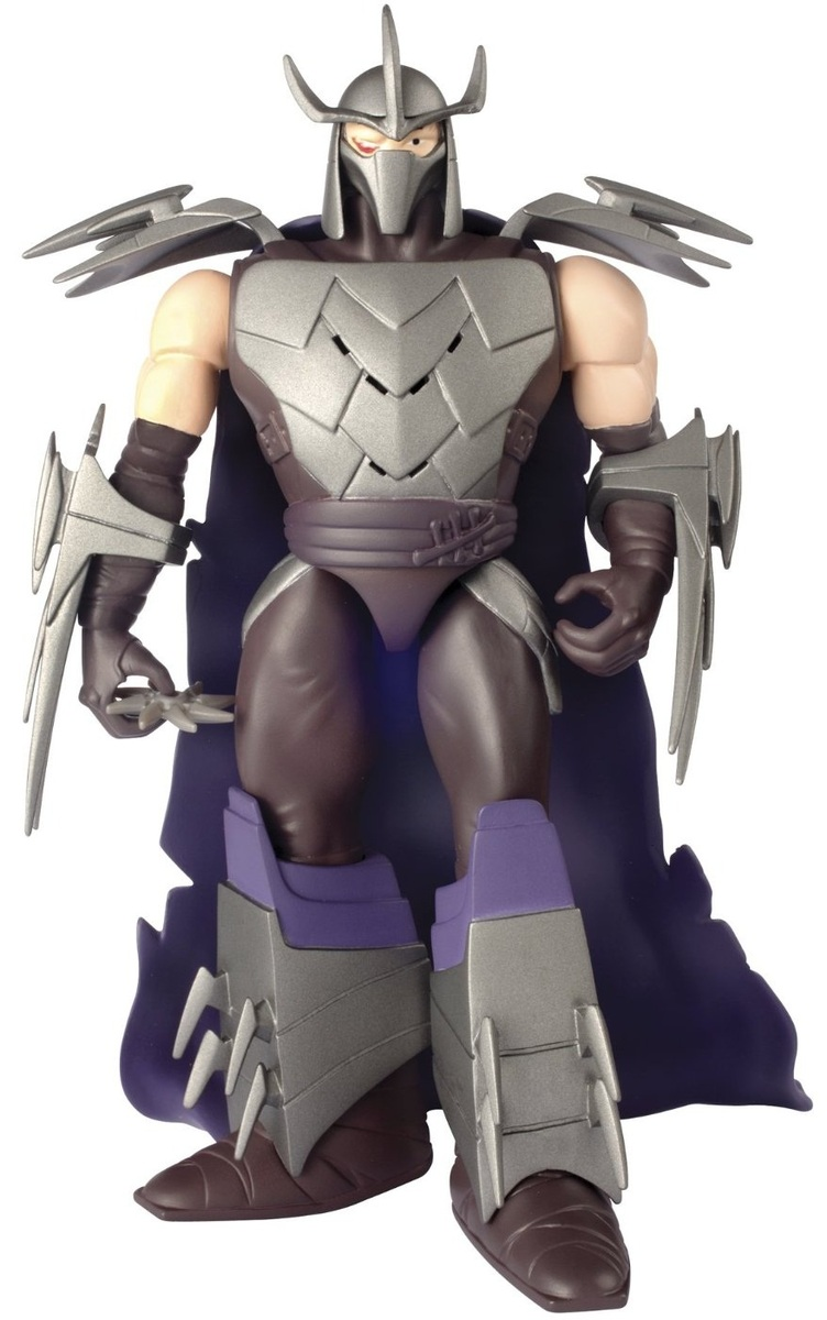 TMNT Powersound Shredder Action Figure Images at Mighty ...