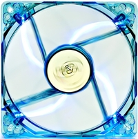 80mm Deepcool Transparent Frame Case Fan - Blue LED