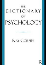 The Dictionary of Psychology by Ray Corsini image