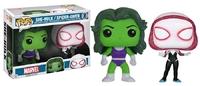 Marvel - She-Hulk & Spider-Gwen Pop! Vinyl 2-Pack