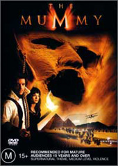 Mummy, The Collector's Edition on DVD