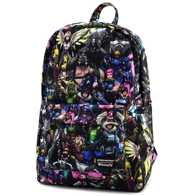 Loungefly: Overwatch - Collage Print Backpack