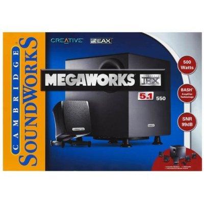 CREATIVE LABS Creative Megaworks THX 550 5.1