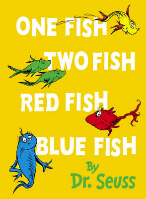 One Fish, Two Fish, Red Fish, Blue Fish: Mini Edition by Dr Seuss image