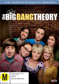 The Big Bang Theory - The Complete Eighth Season on DVD
