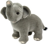 Antics Wildlife: Elephant Standing Plush