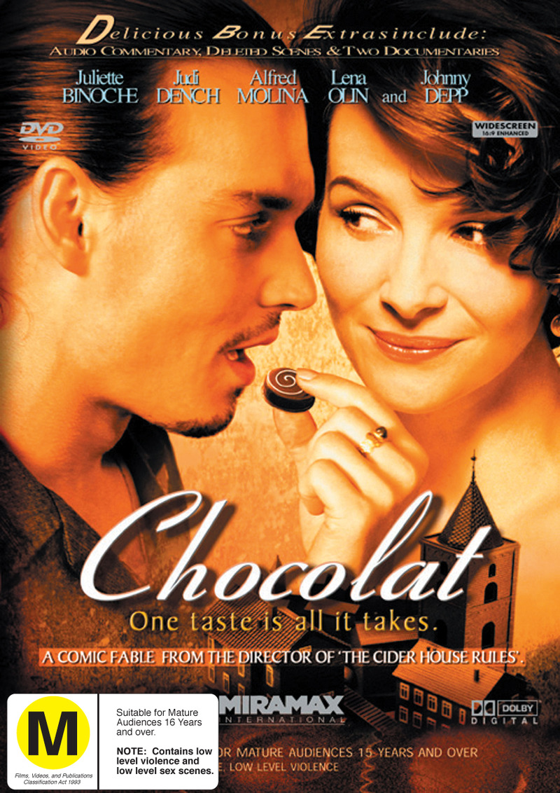 Chocolat' on DVD image