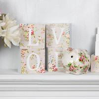 Love Block Letters: Lady Vivienne (Set Of 4) image