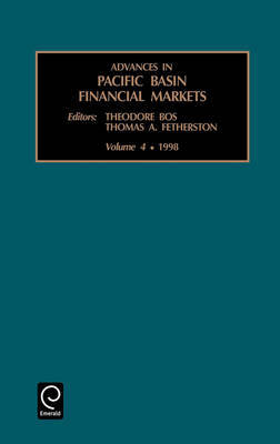 Advances in Pacific Basin Financial Markets