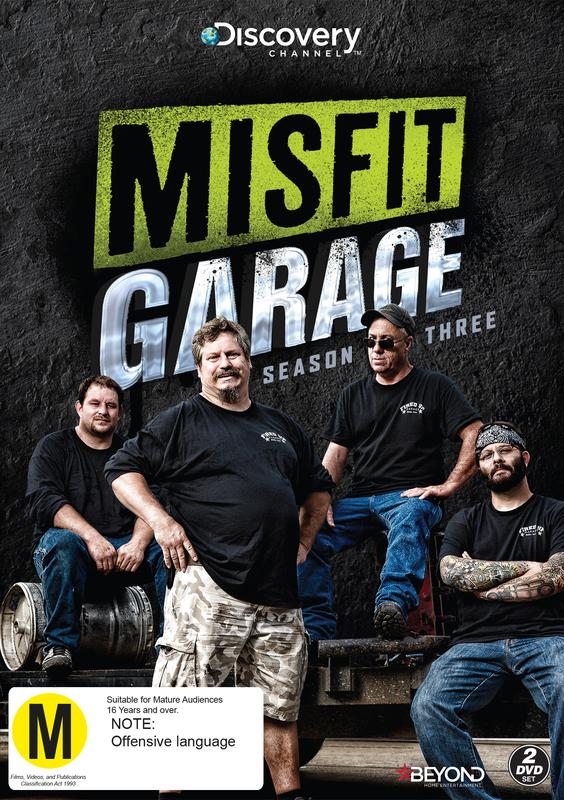 Misfit Garage Season 3 | DVD | On Sale Now | at Mighty Ape NZ