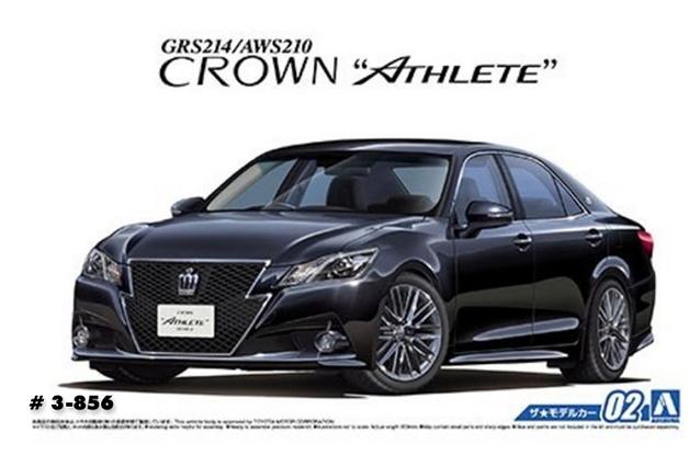 Aoshima: 1/24 Vlene GRS214 Crown (Athlete G'12) - Model Kit