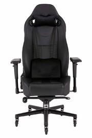 Corsair: T2 Road Warrior High Back Desk And Office Chair - Black/Black for